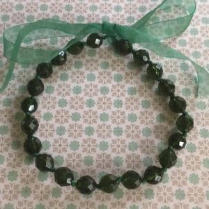 🌸3for$15 Green Choker Necklace